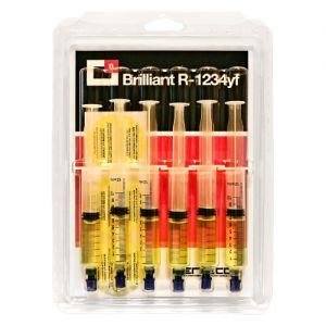 UV Lecksuchfarbstoff für Klimaanlagen mit R1234yf Kältemittel 6 Stück