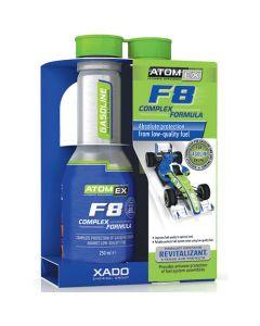 Kraftstoffadditiv zum Schutz von Benzinmotoren - F8 Complex Formula