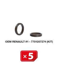 Klimaanlage Spezialdichtung OEM Renault #1 7701207274 (5 St.)