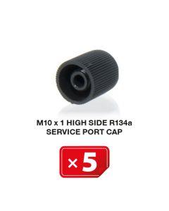 Klimaanlage Verschlusskappe M10 x 1 Hochdruckseite R134a (5 St.)