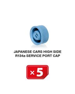 Japanische Autos Hochdruckseite R134a Verschlusskappe (5 St.)