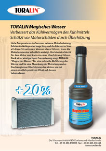 TORALIN Magisches Wasser