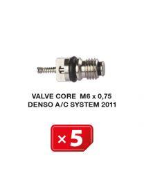 Ventileinsatz M6 x 0.75 für Denso Airco Klimaanlagen (5 St.)
