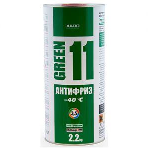 XADO Kühlflüssigkeit G11 Grün, 2L
