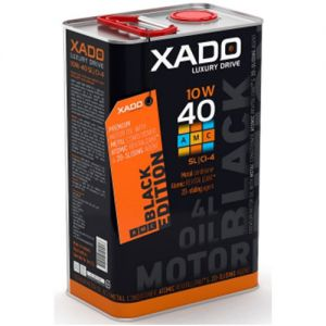 XADO LX AMC Black Edition 10W-40 SL/CI-4 Teilsynthetisches Motoröl 4L