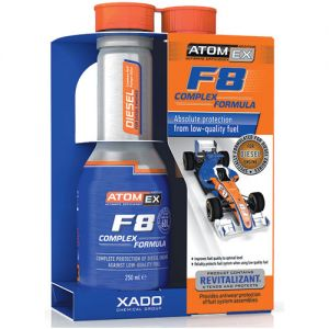 Kraftstoffadditiv zum Schutz von Dieselmotoren - F8 Complex Formula
