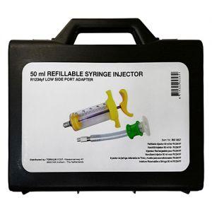 Wiederverwendbare Einfüllspritze R1234YF, 50 ml