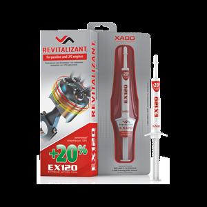 XADO EX120 Öl Additiv für Benzin- und Autogasmotoren