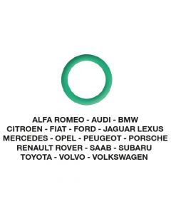 O-Ring Alfa-Audi-BMW-Fiat-Ford-Opel-etc. 14.00 x 1.78  (5 st.)