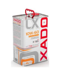 XADO Luxury Drive 10W-60 Synthetisches Motoröl 4L
