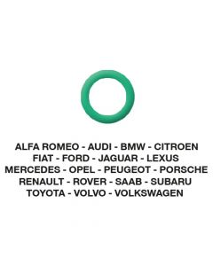 O-Ring Alfa-Audi-BMW-Fiat-Ford-etc. 7.66 x 1.78 (5 St.)