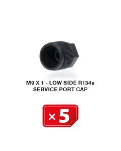 Verschlusskappe M9 x 1 Niederdruckseite R134a (5 St.)