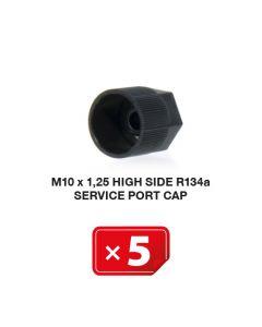 Klimaanlage Verschlusskappe M10 x 1.25 Hochdruckseite R134a (5 St.)