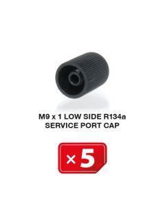 Klimaanlage Verschlusskappe M9 x 1 Niederdruckseite R134a (5 St.)