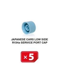 Japanische Autos Niederdruckseite R134a Verschlusskappe (5 St.)