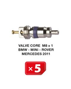 Ventileinsatz M8 x 1 für BMW-Mini-Rover-Mercedes 2011 Klimaanlagen (5 St.)