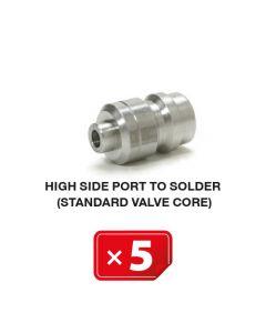 Standard Ventil für Hochdruckseite (zum Löten) (5 St.)