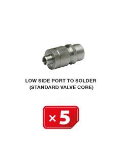 Standard Ventil für Niederdruckseite (zum Löten) (5 st.)