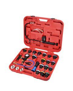 Kühlsystem Lecktest-Set und Vakuum-Füll-Kit (29-teilig)