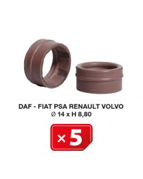 Klimaanlage Spezialdichtung Daf-Fiat-PSA-Renault-Volvo  14xH 8,80 (5 St.)